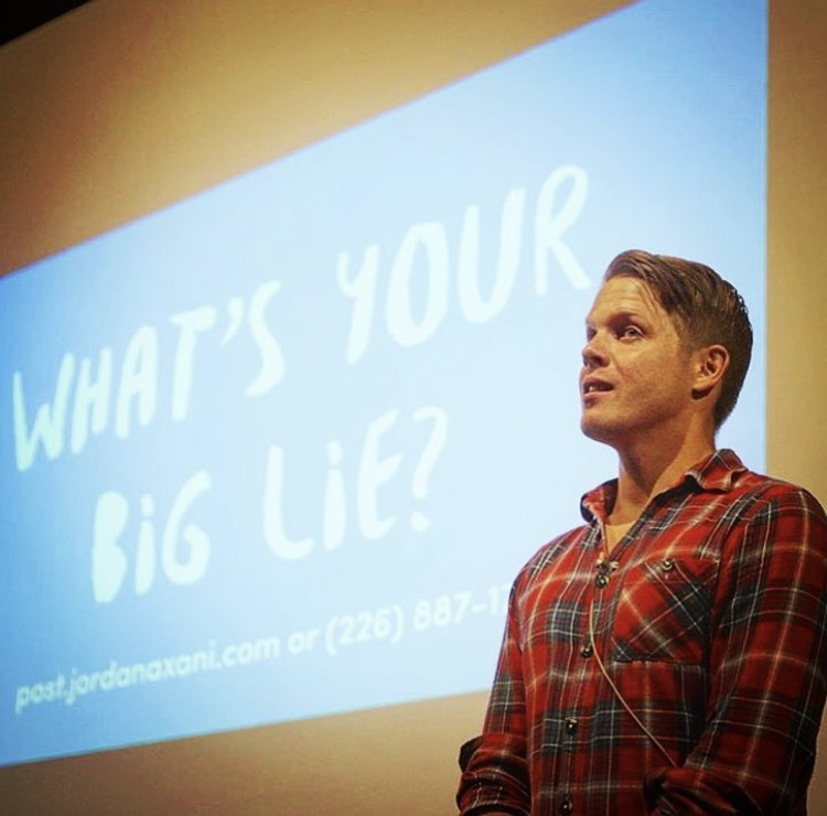 Jordan Axani - What's Your Big Lie?