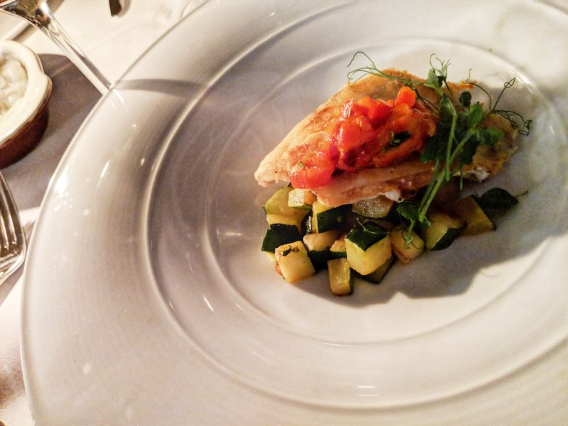 Farm-to-table dining experience at the Viamede Resort