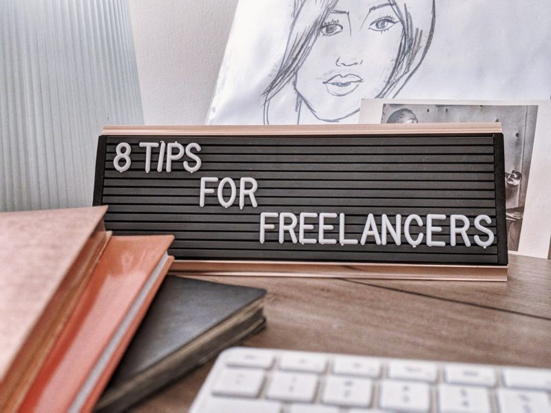 8 Tips To Becoming A Successful Freelancer